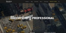 Bloomberg Webseite