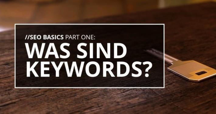 Was sind Keywords