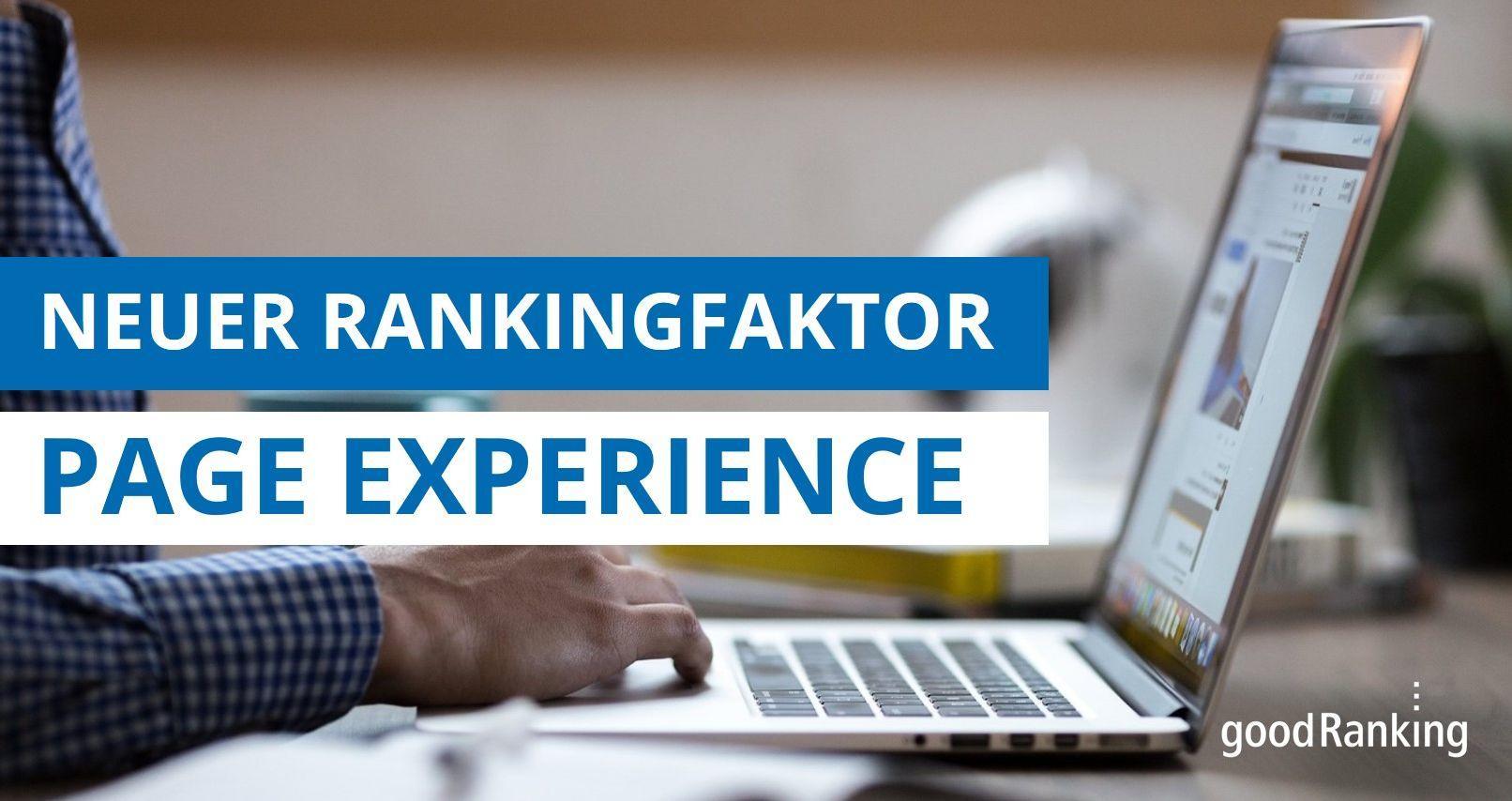Rankingfaktor Page Experience